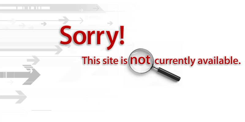Sorry! This site is not currently available.
